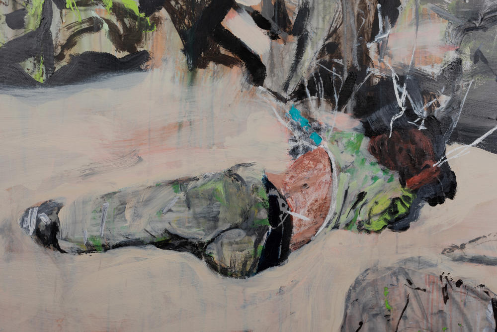 Image: 2. Brian Maguire, 'Arizona Border 3' (detail), 2020. Courtesy of the Artist and Kerlin Gallery, Dublin.