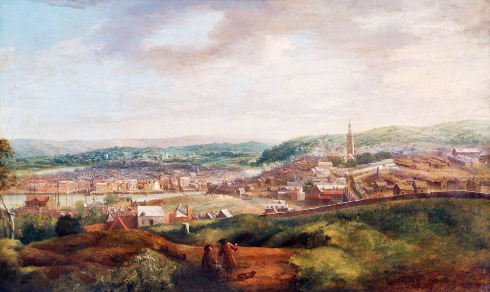 299-P J Butts View of Cork