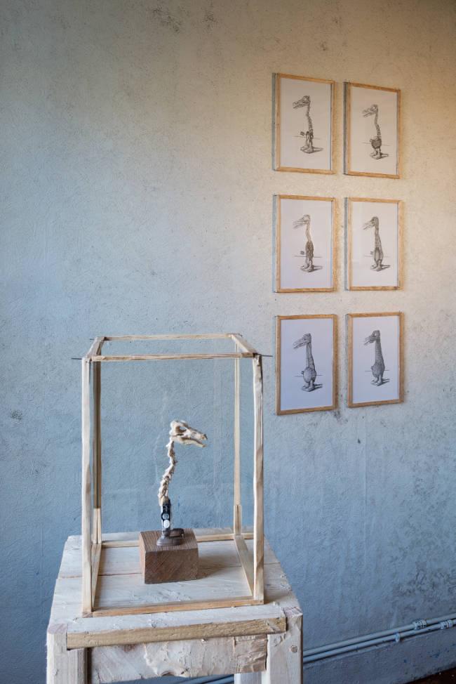 Image: Peter Nash, 'Domestic Animal' installation. Courtesy of the Artist. Photo: Jed Niezgoda.