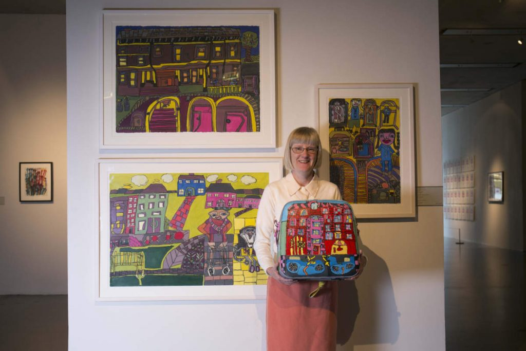 Photo: Rosaleen Moore. Culture Night at Crawford Art Gallery, 2016. Courtesy of the Artist and Crawford Supported Studio. Credit: Clare Keogh.