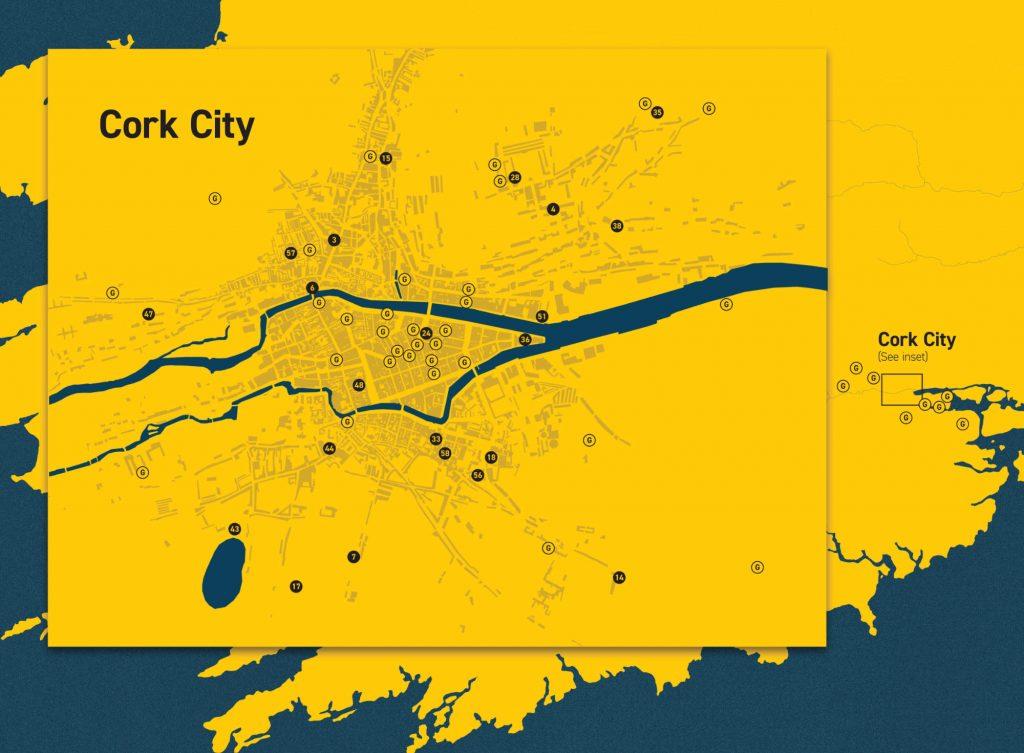Cork City map optimised