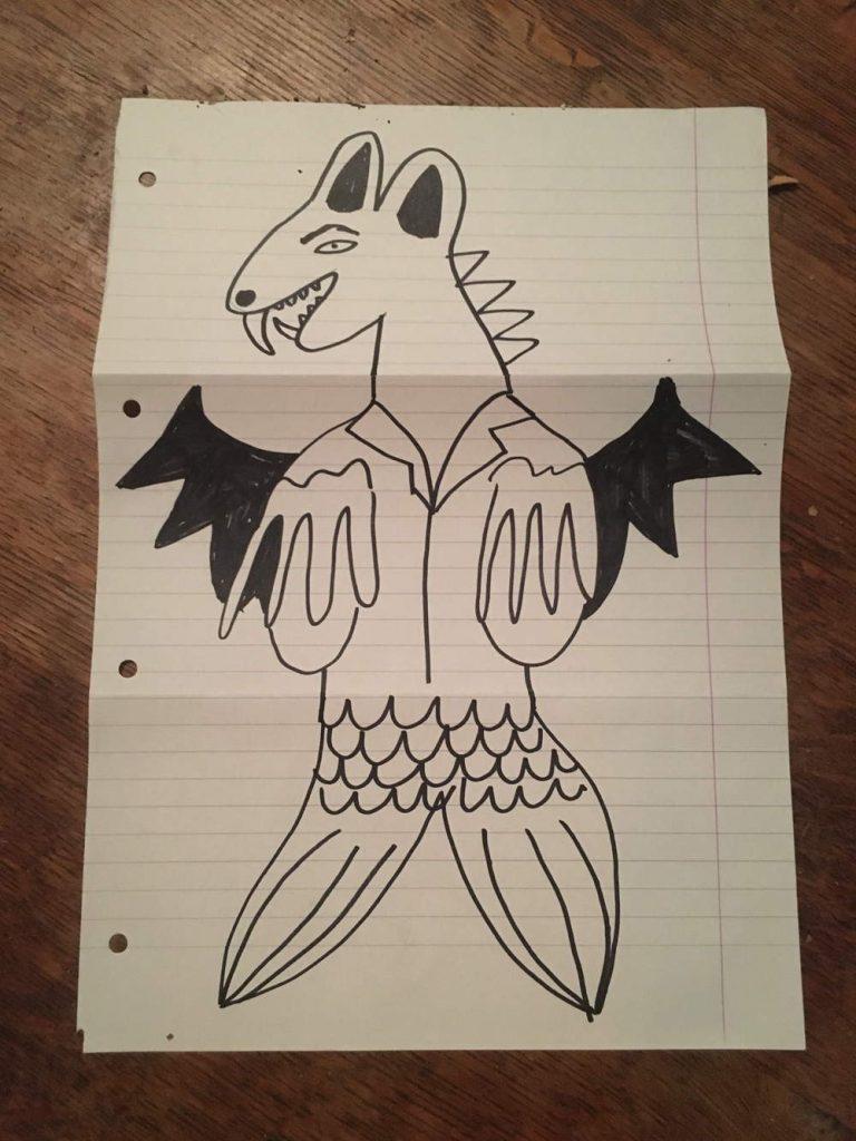 Beast drawing