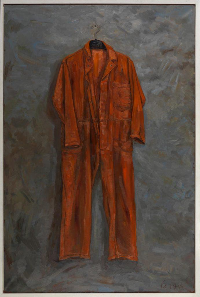 Image: Rita Duffy, Guantanamo, Amas, Amat, 2017, oil on linen, 182 x 121 cm. Courtesy of the Artist.
