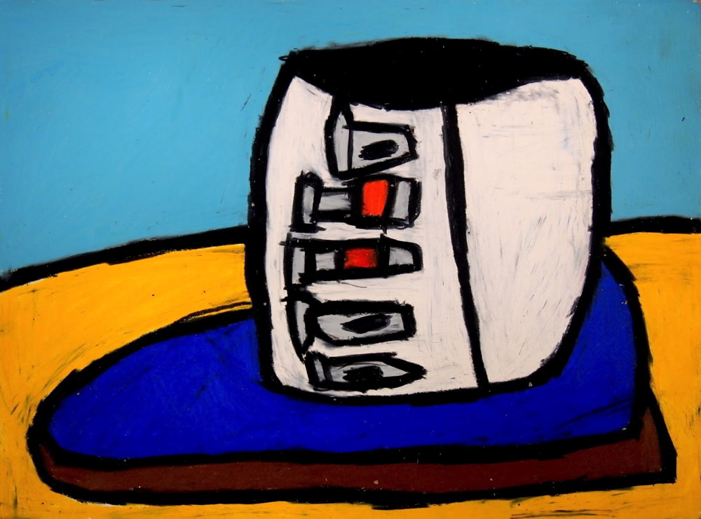 Image: Íde Ní Shúileabháin, Untitled [Toaster], oil pastel on paper. Courtesy of the Artist and Crawford Supported Studio.