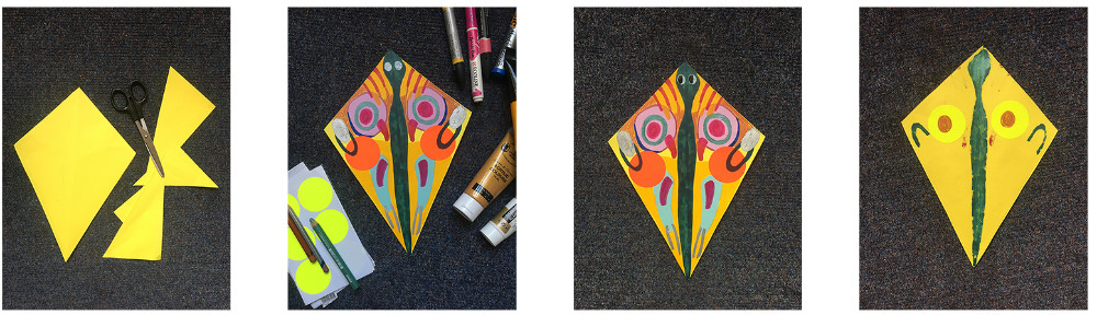 Kite colour