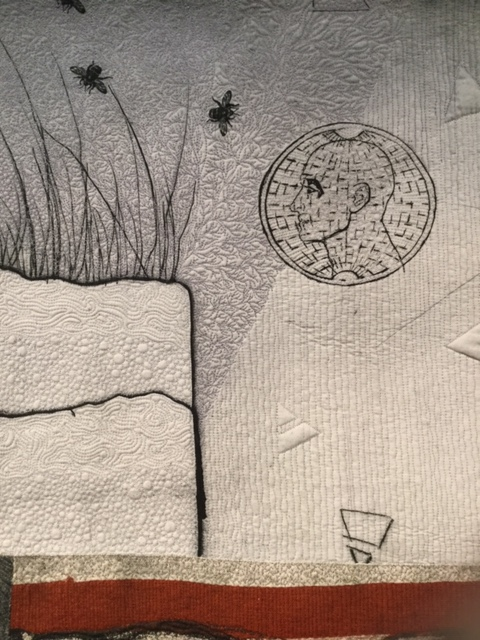 Image: Anne Kiely and Mary Palmer, 'Who Will Tell The Bees?' (detail).
