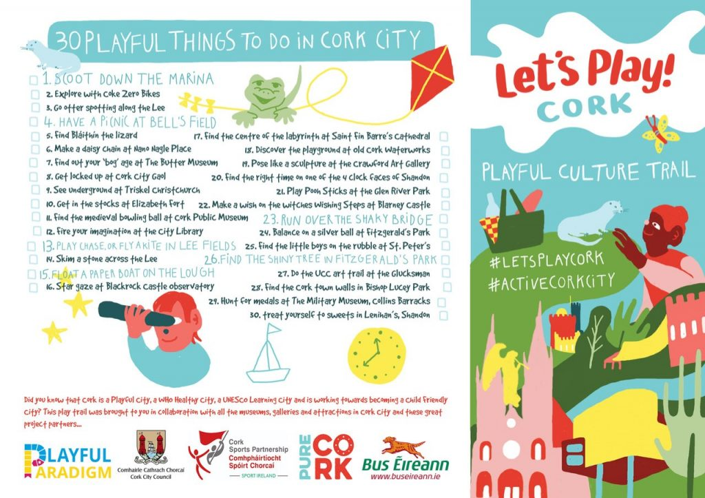 Playful things to di in Cork City
