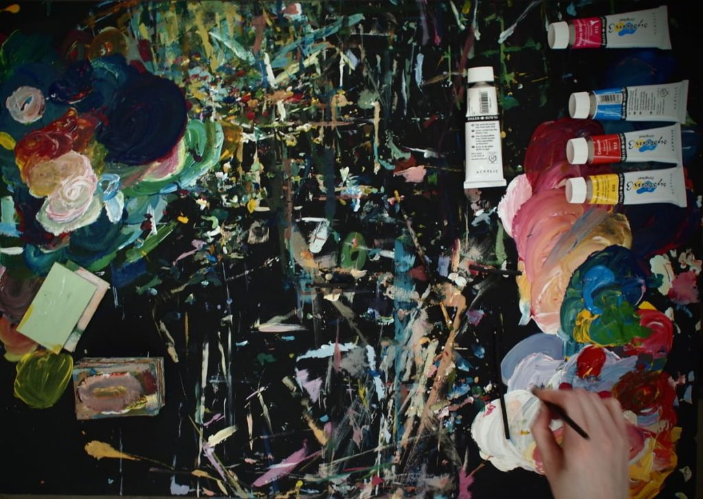 Image: Tom O'Sullivan's work space. Courtesy of the Artist and Crawford Supported Studio.